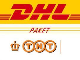 Verzendlabels voor DHL,TNT, UPS en DPD