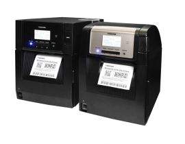 TOSHIBA BA400 barcode label printer-BYPOS-9583