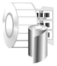 Zebra 8000T Cryocool Polypropyleen Etiket Kern 25mm